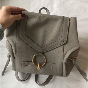 ZARA mini leather back pack